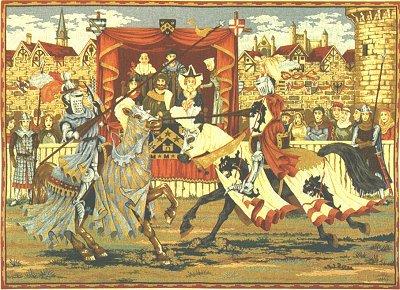 Medieval ColourMedieval Nobles Manuscript